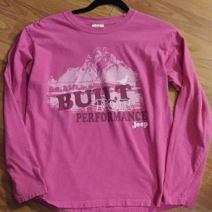 Women's Comfort colors Jeep shirt size medium